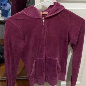 Petite size juicy couture hoodie / jacket.